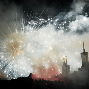 July 14 - Bastille Day fireworks